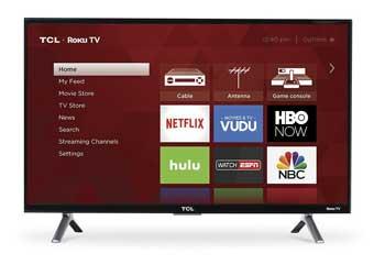 TCL 28S305 720p Roku Smart LED TV