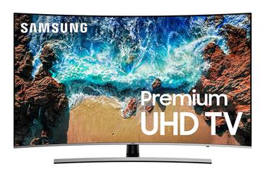 "Samsung UN65NU8500 Curved 65"" 4K UHD 8 Series Smart LED TV"