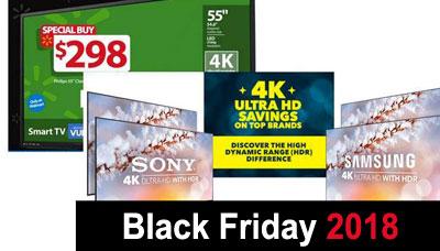 Best Black Friday 2018 4k TV Deals