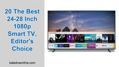 20 The Best 24-28 Inch 1080p Smart TV, Editor's Choice