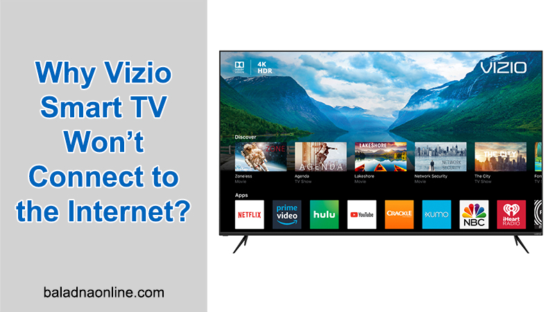 Vizio TV is Unable to Connect to Wifi and Apps
