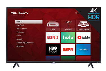 TCL 43S425 Ultra HD Roku LED TV