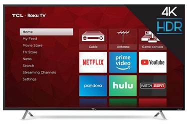TCL 55S405 Roku Smart LED TV