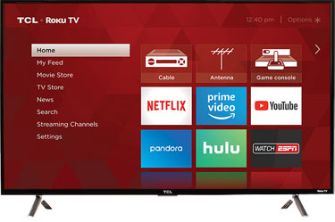 TCL S305 Series Roku TV - Most Solid for Streaming