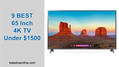 9 BEST 65 Inch 4K TV Under $1500