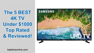 The 5 BEST 4K TV Under $1000 - Top Rated & Reviewed!