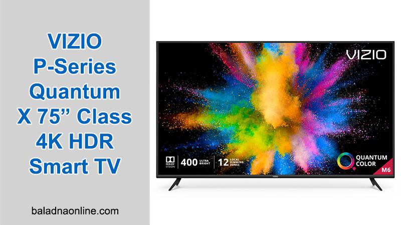 VIZIO P-Series Quantum X 75' Class Smart TV
