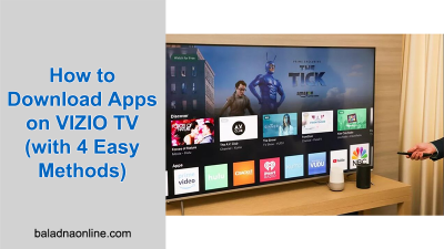 How to Download Apps on VIZIO TV (with 4 Easy Methods)